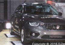 Maximaal 4 sterren EuroNCAP voor Fiat Tipo