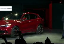 Onthulling Alfa Romeo Stelvio in foto's