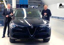 Productiestart Alfa Stelvio en 1800 banen erbij