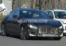 Maserati Ghibli facelift bijna klaar