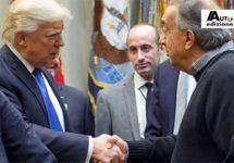 Marchionne schetst Trump grootste autoproducent ter wereld