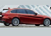 Alfa Romeo Giulia SW officieel van de baan