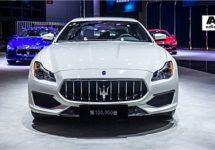 Maserati naar China met Maserati nummer 100.000 uit Grugliasco