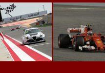 Bahrein kleurt Alfa Romeo en Ferrari-rood