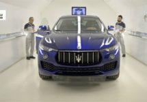 Maserati Levante stimuleert productie Mirafiori