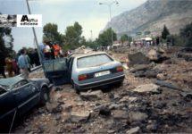 Resten Fiat Croma herinneren aanslag op Falcone 25 jaar geleden