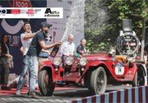 Alfa Romeo 6C 1750 Gran Sport zegeviert opnieuw in de Mille