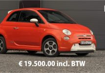 Fiat 500E gewoon verkrijgbaar in Nederland