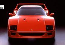 De mythische Ferrari F40 is 30 geworden