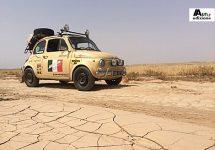 Nederlanders eren Fiat 500 met monstertocht via Afrika