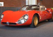 Alfa Romeo 33 Stradale al 50 jaar ongeëvenaard