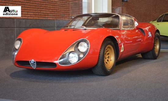 auto 50 jaar Alfa Romeo 33 Stradale al 50 jaar ongeëvenaard | Auto Edizione auto 50 jaar