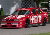 Alfa Romeo 155 V6 Ti DTM te zien tijdens Classic Days Schloss Dyck