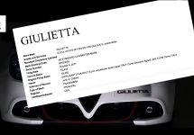 Opvolger Alfa Romeo Giulietta wordt mondiaal model