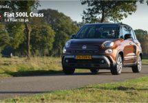 Nieuwe Fiat 500L Cross: Geperfectioneerd ruimtewonder