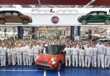 500.000 keer Fiat 500L uit Servische fabriek