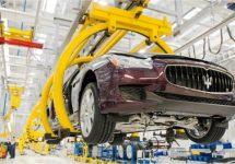 Maserati-fabriek in Grugliasco half jaar op halve kracht