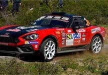 Abarth 124 Rally opvallend sterk tijdens Tour de Corse