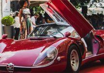 Alfa Romeo 33 Stradale wint Coppa d'Oro op Villa d'Este