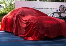 641 pk sterke Giulia coupé te zien op Balocco?