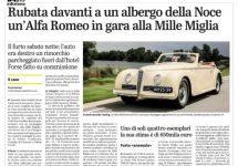 Mille Miglia voor Nederlandse eigenaar Alfa 6C voor start al dramatisch geëindigd
