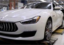 Maserati-fabrieken Turijn draaien nog maar 1 dienst per dag