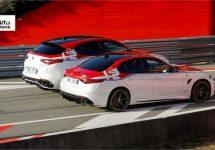 'Alfa Romeo Racing' edities van Stelvio en Giulia Q