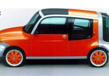 Concept nieuwe Fiat Panda te zien in Genève