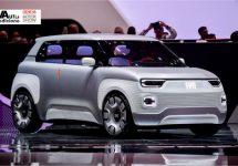 Fiat Centoventi is grote Panda boven de Panda