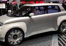 Panda van de toekomst toont innovatie genaamd Fiat