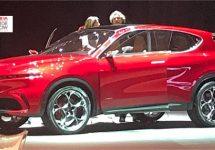 Glimp van de Alfa Romeo Tonale concept