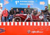 Tweemaal Alfa Romeo 6C op podium Mille Miglia