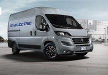 Fiat Professional presenteert de eerste 100% elektrische Ducato