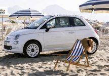 Fiat viert verjaardag 500 met nieuwe 'Dolce Vita' strandeditie