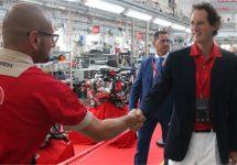 Stevige bonussen voor Ferrari werknemers