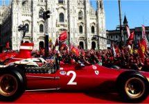 Milaan Ferrari-rood voor 90 jaar Scuderia in F1