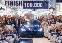 Grugliasco viert Maserati Ghibli nummer 100.000