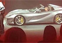 Open Ferrari 812 achter de schermen gepresenteerd