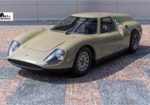 Concept Alfa Romeo Scarabeo logeert een tijd op Frans kasteel