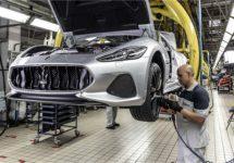 Laatste Maserati GranTurismo van de band gerold