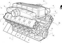 Ferrari's nieuwe V12 met innoverende verbrandingstechniek