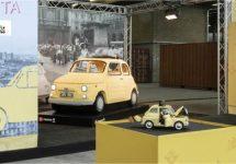 Dan maar de presentatie van de Fiat 500 van Lego