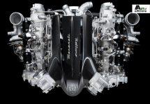 De nieuwe V6 van Maserati genaamd 'Nettuno'