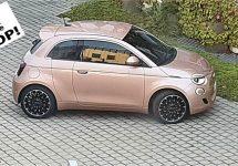 Eerste plaatje Fiat 500e Trepiuno met extra deurtje