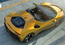 Ferrari SF90 nu open met Spider