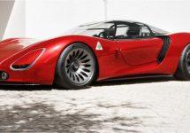 Alfa Romeo 33 Stradale reïncarneert via volmaakt ogende 'Visione'