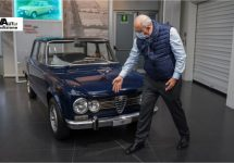 Alfa-baas Jean Philippe Imparato bezoekt Arese