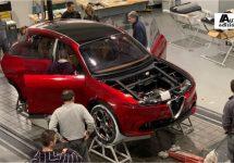 Assemblage Alfa Romeo Tonale loopt warm