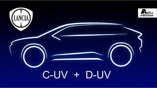 Lancia komt met 2 SUV's op nieuw platform