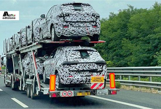 Spy: Alfa Romeo Tonale heeft LED-strip-achterlichtunit
